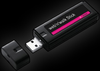 T-mobile web n walk stick